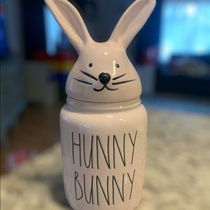 Rae Dunn Pink Baby Hunny Bunny Canister